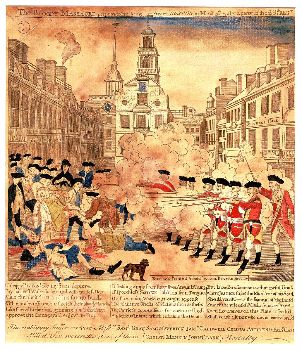 a history of the boston massacre
