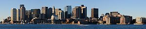 Boston skyline from East Boston November 2016 panorama 4.jpg