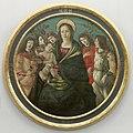 Botticelli, Sandro Schule - Maria mit dem Kind und Engeln, Gal.-Nr. 10.jpg