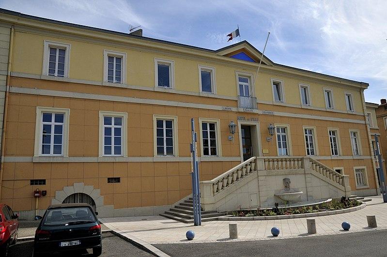 La Mairie de Bourg-de-Péage