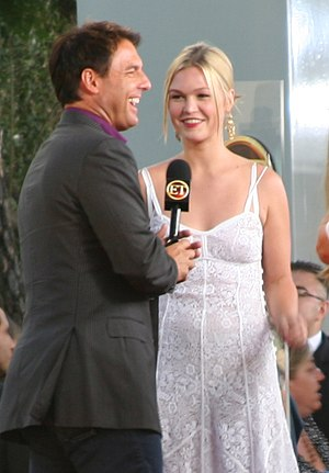Mark Steines - Steines interviewing Julia Stiles in 2007