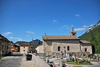 Bouvante Commune in Auvergne-Rhône-Alpes, France