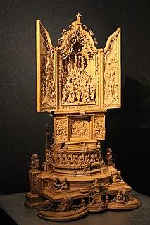 <i>Miniature altarpiece</i> (WB.232)