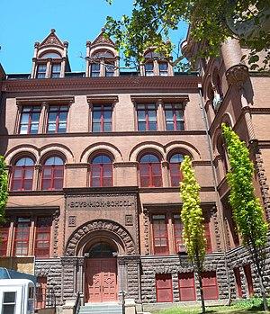 Boys High School (Brooklyn) - South face