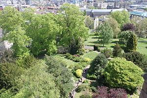 Brandon Hill, Bristol - Brandon Hill from Cabot Tower