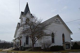 Brandon, Ohio - Methodist church