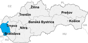 Bratislava 2 - Image: Bratislava kraj