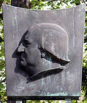 Franz Abt - Franz Wilhelm Abt monument from 1960 in Braunschweig