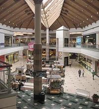 Interior of Brea Mall