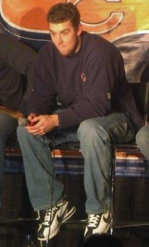Brett Basanez - Basanez at the Bears' Football 101 event in 2009
