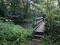 Bridge over stream, Kennford - geograph.org.uk - 572370.jpg