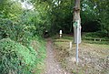 Bridleway, Toy's Hill - geograph.org.uk - 1499459.jpg
