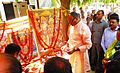 Brijesh Pathak, Minister of Law & Justice and Additional Energy Resources in Uttar Pradesh, inaugurating the bada mangal festivities at UPNEDA office in Vibhuti Khand (May 2017).jpg