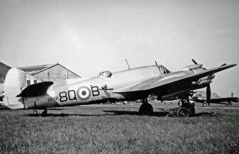 Bristol 156 Beaufighter TT.10 SR911 34 Sqn Teversham 06.51 edited-2