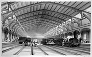 Bristol Temple Meads railway station train-shed engraving