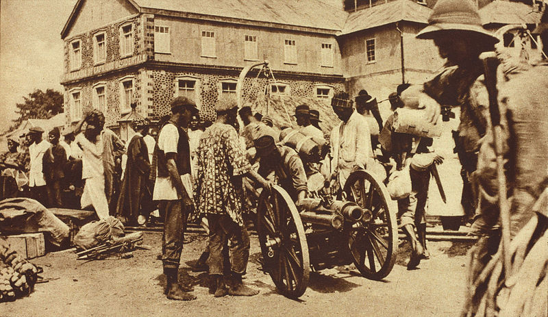 British Expeditionary Force in Freetown, 1919.jpg