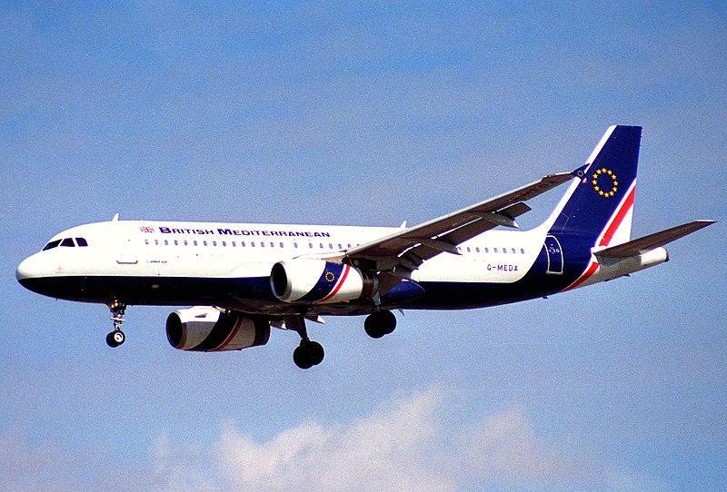 File:British Mediterranean Airways Airbus A320-231; G-MEDA@LHR;04.04.1997 (5491901680).jpg