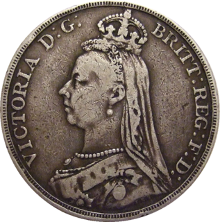 British coin introduced in 1707