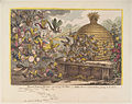 Broad-bottom drones storming the hive - wasps, hornets & bumble bees, joining in the attack by James Gillray.jpg