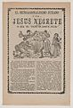 Broadsheet relating to the sensational trial of Jesus Negrete 'El tigre de Santa Julia' on account of a shootout with police in 1906, description in the bottom section MET DP869128.jpg