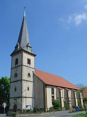 Steinhagen, North Rhine-Westphalia - St. Georg Church in Brockhagen, a part of the municipality of Steinhagen