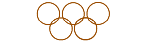 English: Bronze chain of Olimpic order