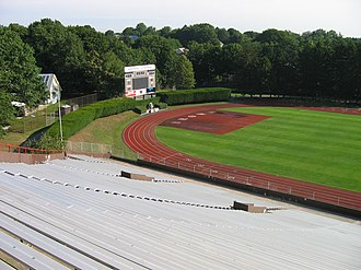 Brown Stadium - View from the grandstand, 2008