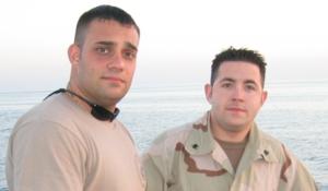 Nathan Bruckenthal - Bruckenthal and Petty Officer Third Class Joseph T. Ruggiero.