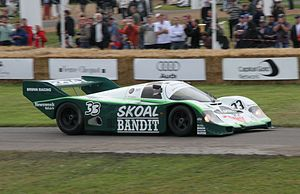 Group C - Porsche 956 was a dominant car in its many factory and customer built forms in the early 1980s.