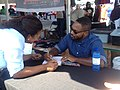 Bryant Terry signing books (15343002702).jpg