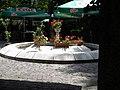 Bucuresti, Romania. Piata Lahovari. Casa Oamenilor de Stiinta. (Fantana din gradina).jpg