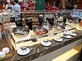 Buffet table in garden café.jpg