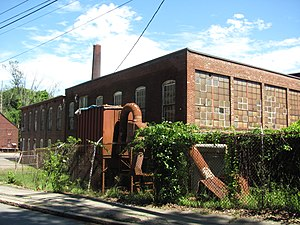 Andover Village Industrial District - Building on Red Spring Road