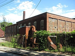 Andover Village Industrial District United States historic place