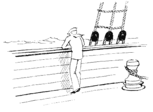 Glossary of nautical terms - Bulwark (or Bulward)