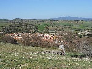 Bulzi - Panorama of Bulzi