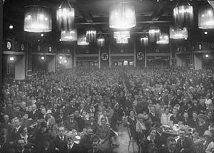 Bürgerbräukeller - NSDAP meeting, 1923