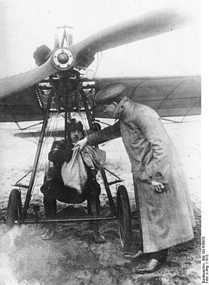 Airmail - 1912 German airmail between Bork and Brück