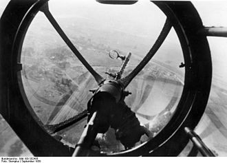MG 15 - MG 15 in Heinkel He 111, Poland, September 1939