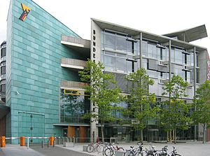 Headquarters of the Bundesdruckerei in Berlin