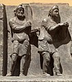 Buner reliefs Scythian bacchanalian harp player and dancer.jpg