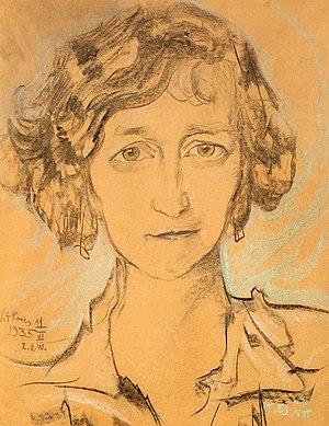 Zofia Romer - Portrait by Witkacy, 1935