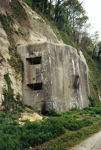 Battle of Belgium - Eben-Emael: the Belgians hoped to severely delay the Germans using such fortifications