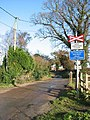 Bure Valley Railway crossing Belaugh Green Lane - geograph.org.uk - 1059240.jpg