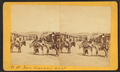 Burros and people on San Francisco Street, by Brown, William Henry, 1928-.png