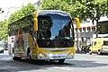 Bus Iveco sur le boulevard du Montparnasse à Paris le 30 juillet 2015.jpg
