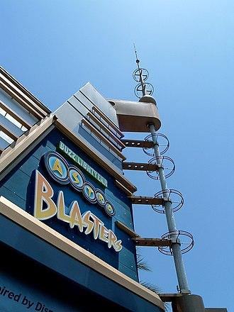 Buzz Lightyear's Space Ranger Spin - Buzz Lightyear Astro Blasters at Disneyland