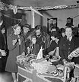 Bwrs Christmas Gifts Distributed To London's East Enders- American Aid To the Canning Town Settlement, London, England, UK, December 1944 D23293.jpg
