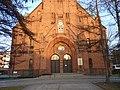 Bydgoszcz - frontal kościoła Św Andrzeja Boboli. - panoramio.jpg