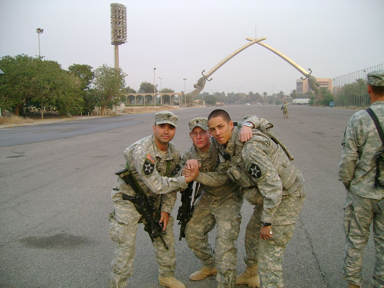 File C 52 Soldiers In Green Zone Baghdad Iraq Dec 13